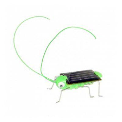Solar Grasshopper Robot Kit powered by solar energy