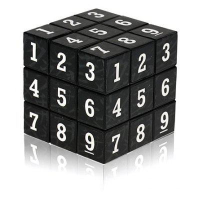 3 x 3 x 3 Small Arabic Numbers Brain Teaser  IQ Cube Puzzle Toy