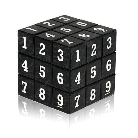 3 x 3 x 3 Petits Chiffres Arabes Brain Teaser IQ Cube Puzzle Toy