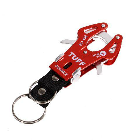 Red Mountaineering Aluminum Alloy Tiger Buckle