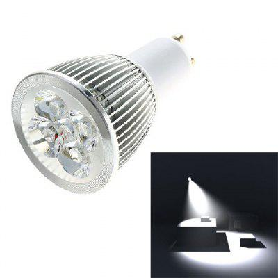 GU10 5W 5*1W LED 400LM White Light LED Spotlight Lighting Bulb (AC85-265V,6000K)