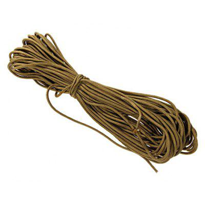 Practical 5mm Military Survival Parachute Rope for Outdoors- Brown