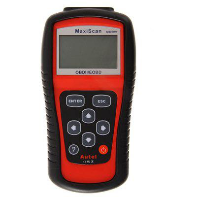 MS509 Artistic Standard Accurate Maxiscan OBDII/EOBD Car Scanner