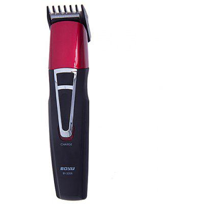 BY2008 Rechargeable Hair Clipper Beard Trimmer with High Precision Design