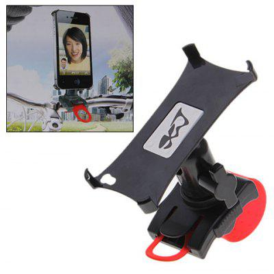 Excellent Bike Holder for Moblie Iphone 3G Iphone 4G MP4 and PDA (Black with Red)
