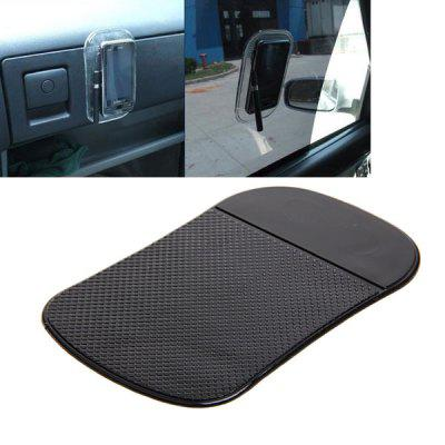 Car Dashboard Anti-slip Sticky Mat Pad - Black