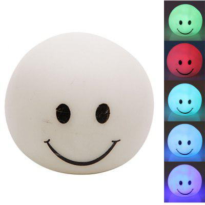 Seven Color Changing Light Smiley Baby Shape LED Small Night Light
