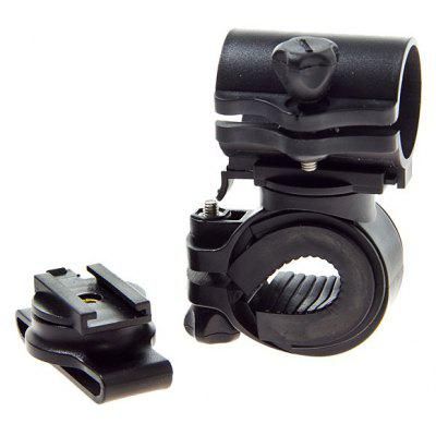 Durable LC - 3 + 1 LED Torch Mount Holder Clip for Bicycle