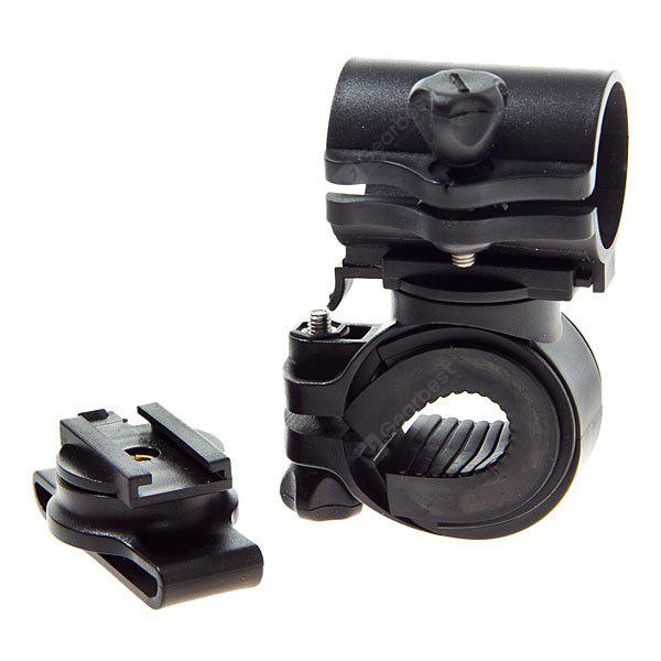 Durable LC - 3 + 1 LED Torch Mount Holder Clip para bicicleta