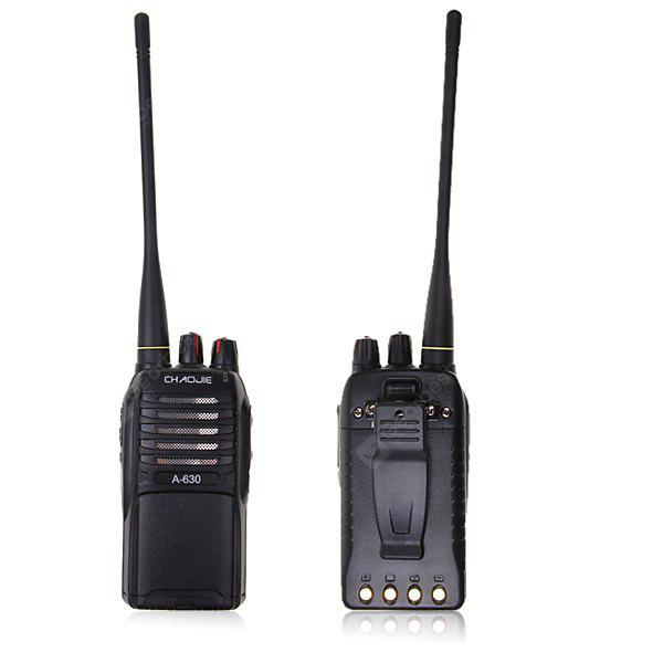 A-630 UHF: 400 - 470MHz 5W Walkie Talkie FM/ VOX/ CTCSS/ DCS/ Voice Prompt Function