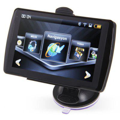 5 inch abf 599 gps navigator by global positioning system with av