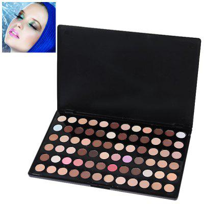 Professional Cosmetic 72 Colors Eye Shadows Palette with Rectangle Box