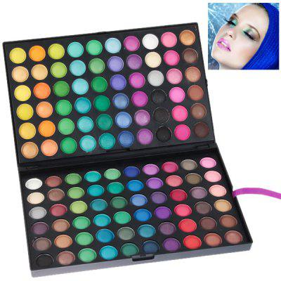 NO.02 Professional Cosmetic 120 Colors Eye Shadows Palette with Rectangle Box