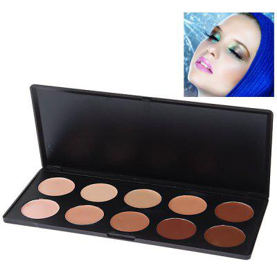 Fashionable Professional Face Concealer Women Cosmetic Kit (10 Colors)