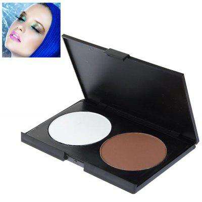 Charming Rectangle Box Makeup Shading Face Powder for Women (2 Colors)