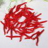 25pcs Artificial Soft Worms Fishing Lure Bait