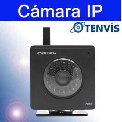 Tenvis Mini 319W Balck Wireless IP Camera (21 IR LEDs, Night Vision, Motion Detection, Two-Way Audio, AU Plug)