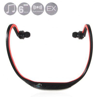 New Fashion Sport MP3 Player Headset with FM, TF Card Slot, Built - in Battery
