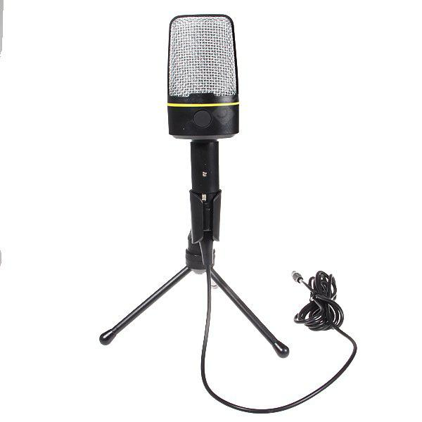 SF-920 Condenser Microphone Special for Chatting and Singing over Internet -Black
