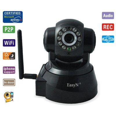 EasyN F - M136 Wireless Webcam IP Audio Video WiFi Camera OSD IR Motion Detection