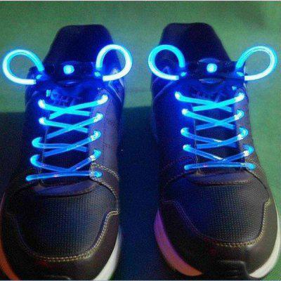 Fashion LED Flashing Night Shoelaces with Unique Eye - catching Design