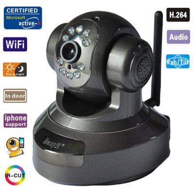 EasyN H3 - 186A IR - Cut Night Vision Security Wireless IP Camera with TF Card Slot