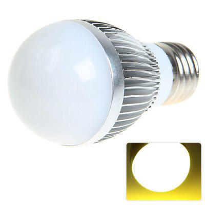 E27 6W AC220 - 240V Warm White Ball Bulb