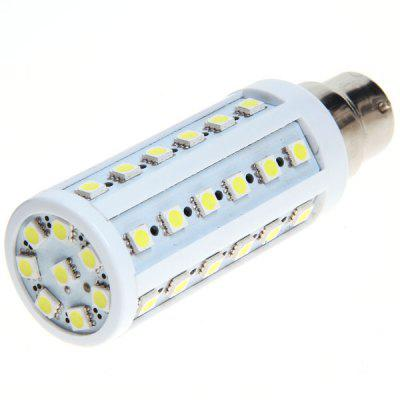 B22 8W AC220V 44 - SMD 5050 LED White Corn Lamp