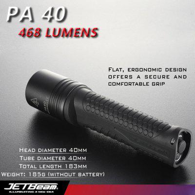 JETBeam PA40 Cree XM - L T6 468lm 4 - Mode White Flashlight (4 x AA Battery)