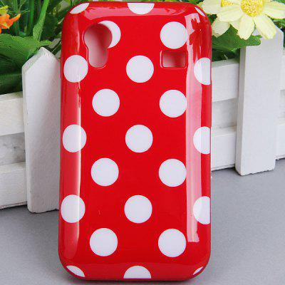 Cool Style Dots Glossy TPU Shell Case for Samsung Galaxy Ace S5830