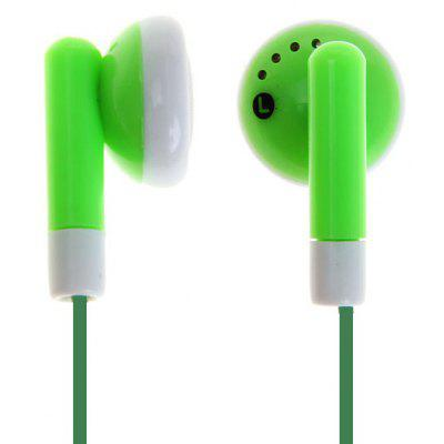 Universal 3.5mm Plug Lightweight Stereo In-ear Earphone (Green)