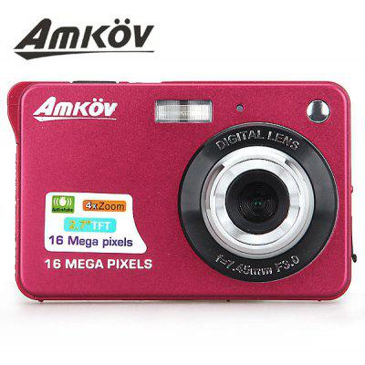Amkov 16.0MP 2.7 inch LCD Camera Anti - Shake/4X Digital Zoom