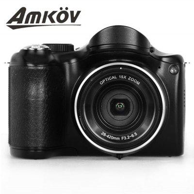 3.0 inch 16.0MP Digital Camera 15X Optical Zoom 720P Video Recording Super Macro DSLR Digital Camera