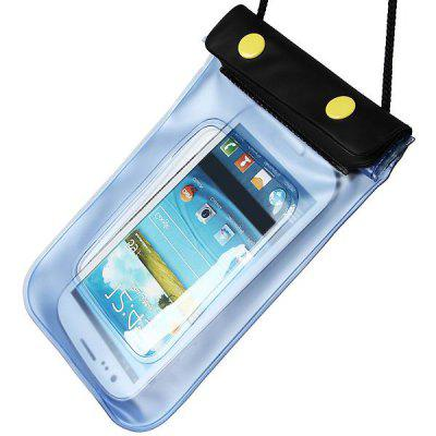 Funda de Bolsa Impermeable para iPhone - Azul