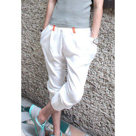 Casual Style Color Block Sports Shorts For Men