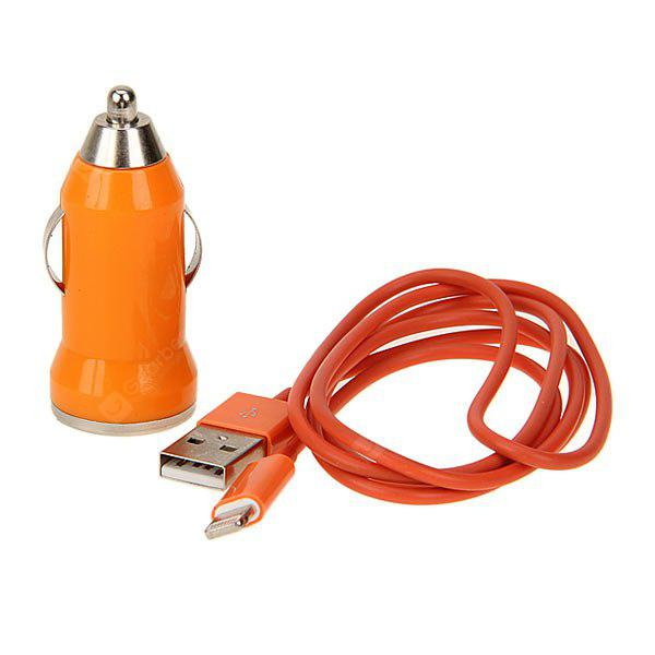 Cool Style Car Charger + 1M 8 Pin Cable