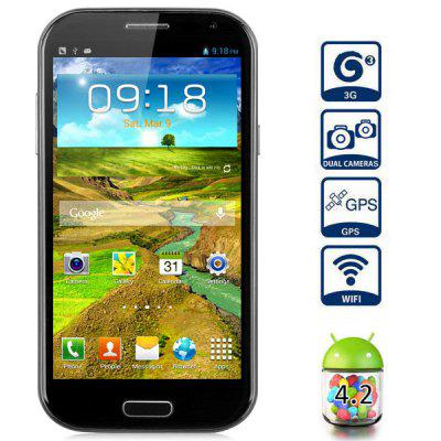 5 inch Feiteng H9500 Android 4.2 3G Phablet MTK6589 Quad Core 1.3GHz 1GB RAM 4GB ROM 13MP Camera