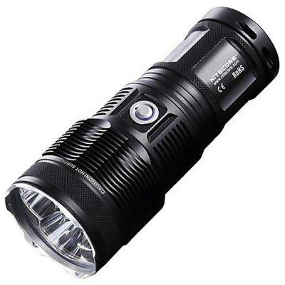 Gearbest Nitecore TM15 3 x Cree XM - L U2 2450lm 18650/CR123 LED Flashlight