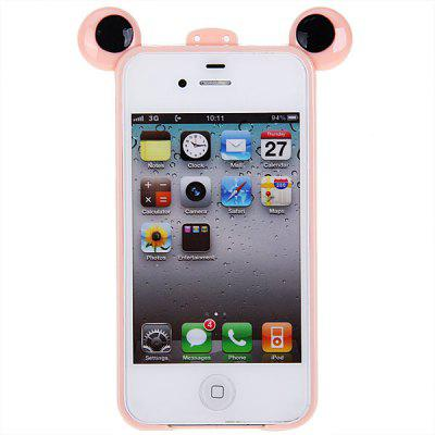 Cool Frog Prince Style Plastic Bumper Frame for iPhone 4 / 4S