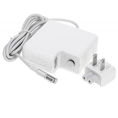 Portable A1184 60W 5Pins US Standards Plug Replacement AC Adapter for MacBook - White