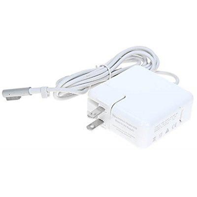 Portable A1244 45W 5Pins US Standards Plug Replacement AC Adapter for MacBook - White