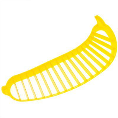 Practical Bananas Slicer Cutter  -  Yellow