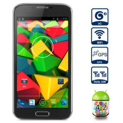 5.3 inch Mpie N7100 Android 4.2 3G Phablet MTK6589 Quad Core 1.2GHz IPS Screen 1GB RAM Dual Cameras GPS