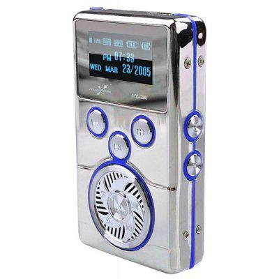HY - 280 8GB Rechargeable Digital MP3 Player with FM Radio/Voice Recorder