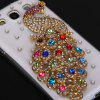 3D Peacock Diamonds Plastic Clear Style Cover Case Samsung Galaxy S3 i9300 COLORFUL