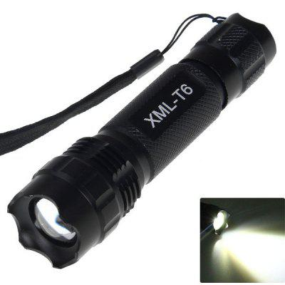 UltraFire 501B Cree XM - L T6 5 - Mode 1000lm 18650 LED Flashlight