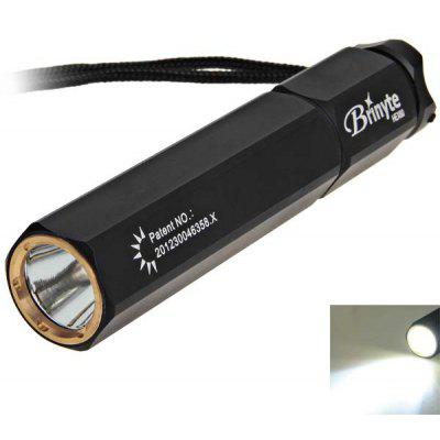 Brinyte HEX60 - 02 Torch Cree R5 400LM 5 Modes White Light 18650 LED Flashlight