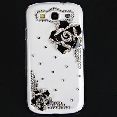 Hawthorn Flower Diamonds Plastic Case for Samsung Galaxy S3 i9300