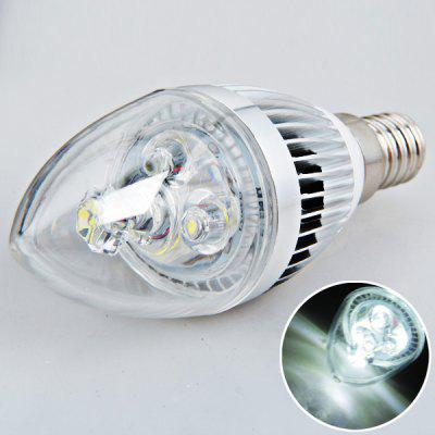 E14 3W AC180V-240V Candle Light Bulb