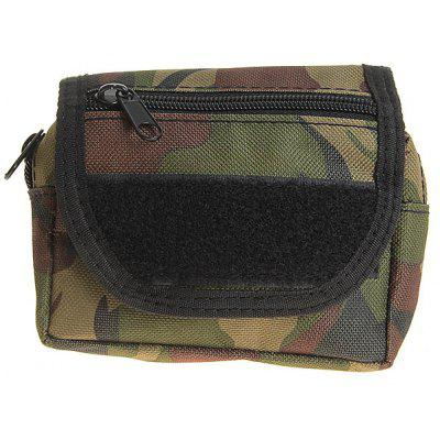 High Quality 800D Waterproof Mini Waist Bag Outdoor Pack Fanny Pack for Outdoor Sports - Army Green